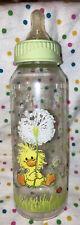 Vintage Gerber Suzy's Zoo Baby Bottle,Dandelions!! Size 9-oz.