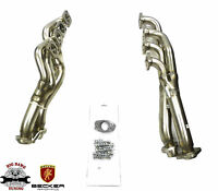 Becker S/S Long Tube Header Exhaust Fits 1995-2001 BMW 740iL M60B40/ M62B44