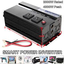 4000W Watt Peak Power Inverter Dc 12V -Ac 110V for Car Truck Rv Pickup Converter