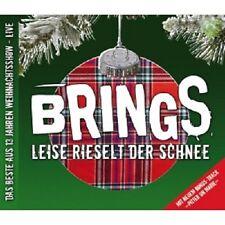 BRINGS - LEISE RIESELT DER SCHNEE  CD 13 TRACKS DEUTSCHPOP/WEIHNACHTSLIEDER NEU