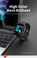 1.3IPS Color Touch Smart Watch Sport Frequenza cardiaca del sangue Bluetooth Lot