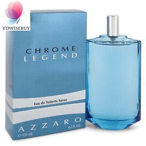 Chrome Legend Cologne Men Perfume by Azzaro 4.2 oz 2.6 oz  EDT Spray Fragrance
