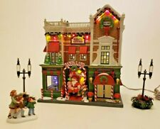 New Dept 56 Christmas in the City Series Visiting Santa At Finestrom'S #59243