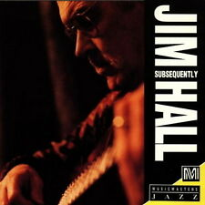 Jim Hall Subsequently (Mister Blues, Pancho, Waltz For Sonny) 1992 BMG CD