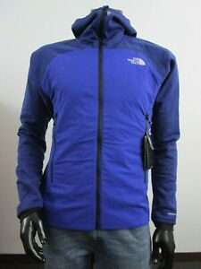 NWT Mens TNF The North Face L3 Ventrix Hybrid Hooded Insulated Jacket - Blue