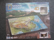 PUZZLE National Geographic 4D CHINA IMPERIAL~ 600 PIEZAS