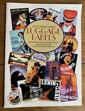 Dover Stickers Set: Old-Fashioned Luggage Labels (2002, Book, Other)