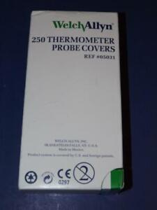 WELCHALLYN 250 THERMOMETER PROBE COVERS!  REF#05031!!
