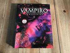 Vampiro La Mascarada - Libro Básico - Quinta Edición - V5 - Rol - Nosolorol