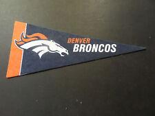 DENVER BRONCOS FOOTBALL NFL BRAND NEW  MINI PENNANT 4 X 9