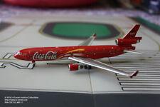 Phoenix Model Coke Cola McDonnell Douglas MD-11 Passenger Diecast Model 1:400