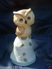 Vintage Owl Bell cute