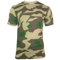 German Splinter T-Shirt - 100% Cotton WW2 Army Military Top All Sizes New