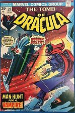 Tomb Of Dracula #20 (1974) Marvel Comics Vg+/Fine-