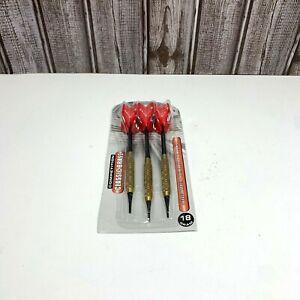 Halex Competition Brass Soft Tip Darts 18 Grams, 3 Darts