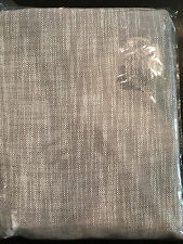 "Pottery Barn Teen Relaxed Cotton Blackout Drape Gray 96"" NEW"