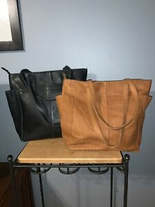 Bundle Of 2 Duluth Trading Co Lifetime Leather Totes