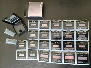 LOT OF 18 Mary KAY MINERAL EYE & Chromafusion + 4 Blush + Compact Mini