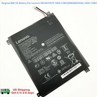 Genuine NB116 Battery for Lenovo Ideapad 100S-11IBY 5B10K37675 80R2 100S-80 R2