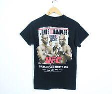 Vintage UFC 135 Jones Vs Rampage Hughes Vs Koscheck Fight 2011 T Shirt Black S