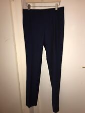 PAUL SMITH NAVY WOOL MOHAIR MIX FORMAL TROUSERS 38 /48