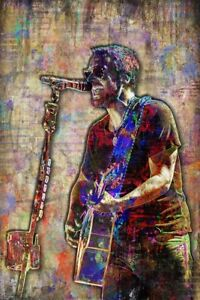 ERIC CHURCH 12x18in Poster Eric Church Country Music Tribute Print Free Shipping