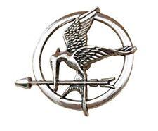 Hunger Games Mockin Mockingjay Pin Brooch Katniss Movie Fire Cosplay Badge Gift