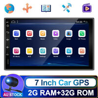 7Inch 2.5D Android 10.0 Double 2Din Car Radio Stereo Head Unit GPS SAT NAV FM/AM