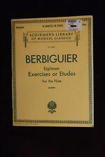 Benoit Berbiguier: Eighteen Exercises or Etudes Flute Method Woodwind