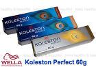 Wella Koleston Perfect PURE NATURALS permanent Hair colour creme 60g x1