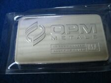 "OPM 10  oz .999 FINE SILVER BAR -MADE in USA  ""FREE SHIPPING"""
