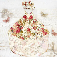 Summer Toddler Kid Baby Girl Floral Party Sleeveless Princess Dress Clothes Set