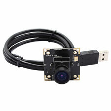 WDR 1080P USB Camera Module Support Digital Audio IR Cut H264 with 2.9mm Lens