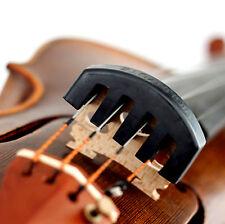Rubber Black Practice Mute For 4/4 Violin New