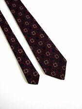 PURA LANA Cravatta Tie Vintage 80 YEARS 100% LANA WOOL