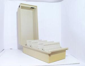 Han 856 Fichier Tischkarteikasten avec Couvercle Beige din A6 - #1