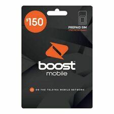 Boost Mobile $150 Prepaid SIM Starter Kit
