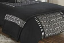 Boutique Black Chantilly Lace Bed Runner NEW Double / King Size RRP £29.99