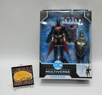 "McFarlane Batman Beyond 7"" DC Multiverse BAF Build A Figure Target In Hand"