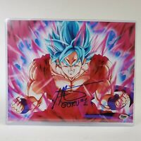 "Ian James Corlett Autograph Signed 8x10 Photo - Dragon Ball Z ""Goku"" (Zobie COA)"