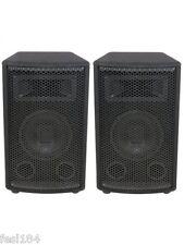 SKYTEC 8 INCH SPEAKERS x 2 (1 Pair), Total 300W, BNIB