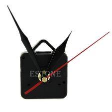 Silent Clock Quartz Movement Mechanism Black and Red Hands Repair Tool Set HOT