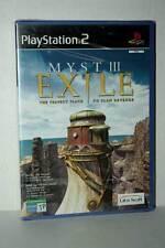 MYST III EXILE GIOCO NUOVO PS2 VERSIONE ITALIANA VBC 28034
