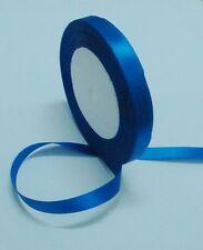 "Free shipping 1/4""25yds Blue Satin Ribbon Wedding Party Bow Craft Supply"