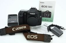 Canon EOS 50D 15.1MP Digital DSLR Camera Only shot ct 12994 #363711 NICE CANON