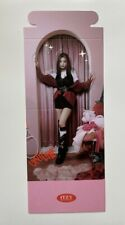 Itzy Yeji Crazy In Love Preorder Standing Card - UK SELLER