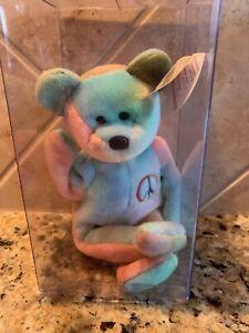 Ty Beanie Baby Peace Bear