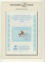 """Bund - 1989 & 1991 - 2 Jahresgaben des """"Bundes Deutscher Philatelisten"""" !!!"""