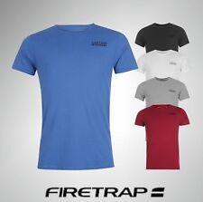 Mens Firetrap Trek T Shirt Short Sleeve Cotton Top Sizes from S to XXXXL