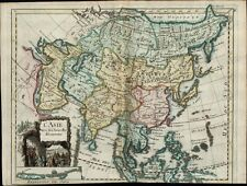 Arabia Asia China India showing Newest Discoveries Royal 1747 Le Rouge old map